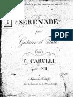 Carulli - Serenade Op.109 No.2_FL+Guit