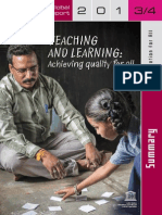 Teaching and Learning UNESCO Report