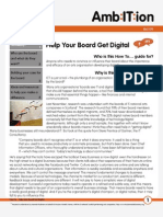 How To... Help your Board get Digital