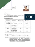 Priya Resume