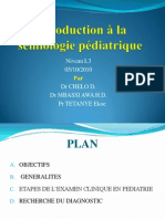 Introduction Semiologie Pediatrique