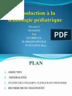 Introduction Semiologie Pediatrique