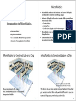 101 Microfluidics Introduction 021813