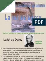 La loi de Darcy