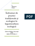 Indrumar de Practici Traditionale Si Ecologice in Legumicult