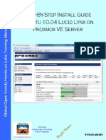 Install Guide Ubuntu 10 04 Lucid Lynx on Proxmox VE Server