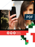 Balassi Institut Informationsbroschüre