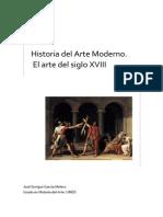 Historia Del Arte Moderno El Arte Del Siglo Xviii