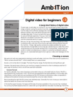 How to... Digital Video for Beginners
