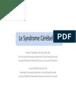 (Le Syndrome Cerebelleux [Mode de compatibilité])