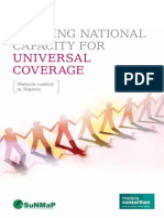 Building capacity for universal coverage