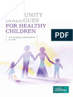 Community dialogues for healthy children