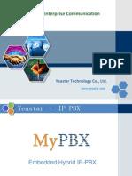 MyPBX Technical Training - Outline