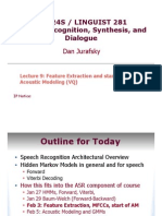 Speech Recognition, Synthesis, And Dialogue 2
