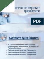 pabellon quirurgico