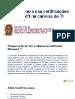 Certificações Microsoft