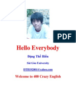 400 Crazy English