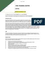 RFFS Transport of Dangerous Goods by Air