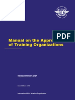 Manual for Training