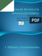 Presentacion Ley Acceso Informacion(2)