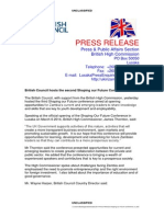 2014 Press Release Shaping Our Future Conference _UK High Commissioner