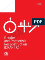 Gender and Post-Crisis Reconstruction