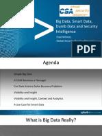 Smart Data Cloud Security Alliance