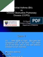 BA vs COPD