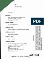 Economics of Natural Gas Upgrading DOE 1995