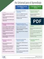 UDL Guidelines v2.0-Organizer Espanol