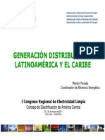 Generacion Distribuida y Smart Grids