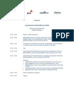 Programa Lanzamiento Oficial GRI4 12 03 2014