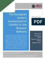 EU and Western Balkans Conflict