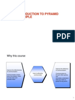 Introduction to Pyramid Principle