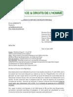 t=1251473419 19192121 Courrier Parquet Eric MONTGOLFIER Du 4 Aout 2009