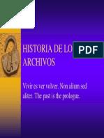 Historia de Los Archivos