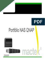 Portfólio NAS QNAP