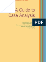 Guide to Case Analysis for Strat Mgmt