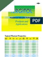 TERGITOL Nonyphenol Ethoxylate