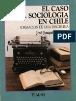 Brunner - Historia de la sociología en Chile