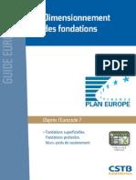 Extr GE Dimensionment Fondations