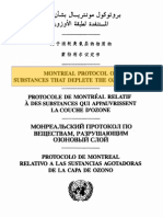 Montreal Protocol Final Act 1987-E