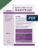 Revista Peruana de Arbitraje Rpa 10 2010