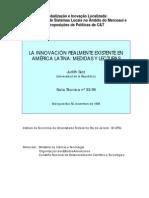 la innovación en america latina