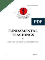 Fundamental Teachings