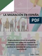 LA MIGRACIÓN EN ESPAÑA_CFO