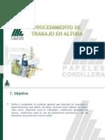 Procedimiento de Trabajos en Altura CMPC Papeles Cordillera