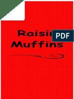 Raisin Muffins (Menu Card 1)