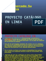 Proyecto catálogo
