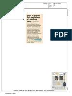 Religioni Sul Crinale - 6 Marzo 2014 - Rassegna Stampa